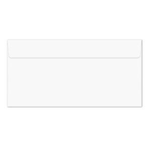 Umschlag DL, Farbe: hochweiß, mit Haftklebung, Grammatur: 110 g/m²