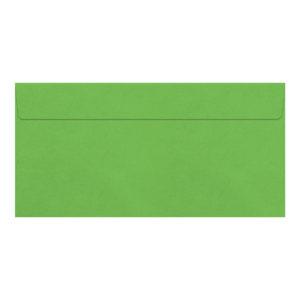 Umschlag DL, Farbe hellgrün, mit Haftklebung, Grammatur: 110 g/m²