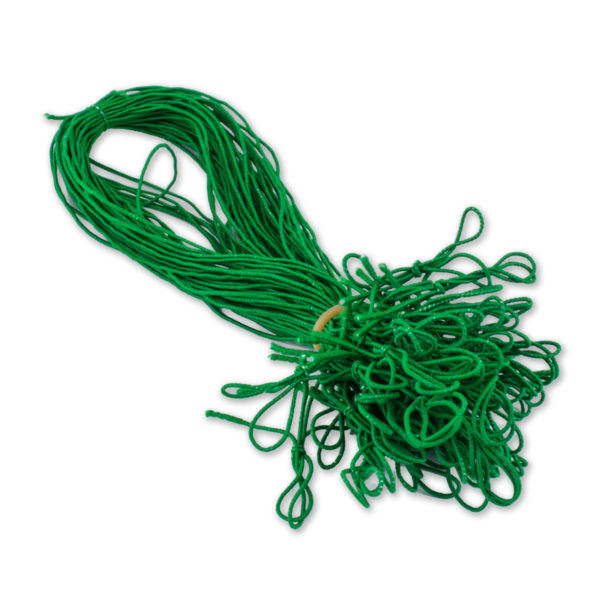 Schmuckgummiband mit Schlaufe, Farbe: grün, zum Fixieren von Einlegeblättern