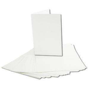 Einlegeblatt weiß, Grammatur: 90 g/m², B6